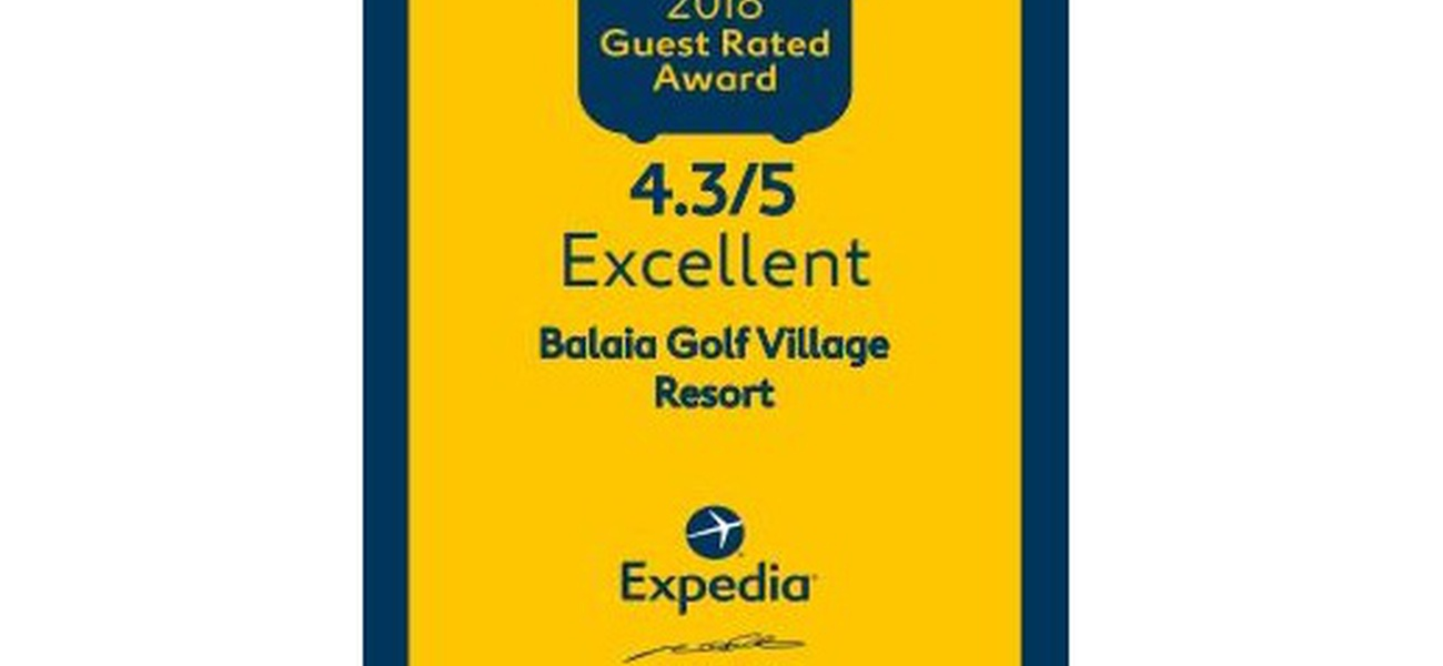 GUEST RATED AWARD 2018 Hôtel Balaia Golf Village Albufeira